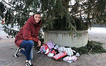 Barna ville gi: Det ble til julegaver til vanskeligstilte barn