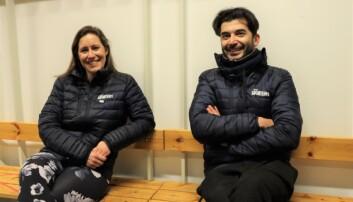 Styreleder Cecilie Kjerland er godt fornøyd med å ha to amerikanske trenere i Kongsvinger.