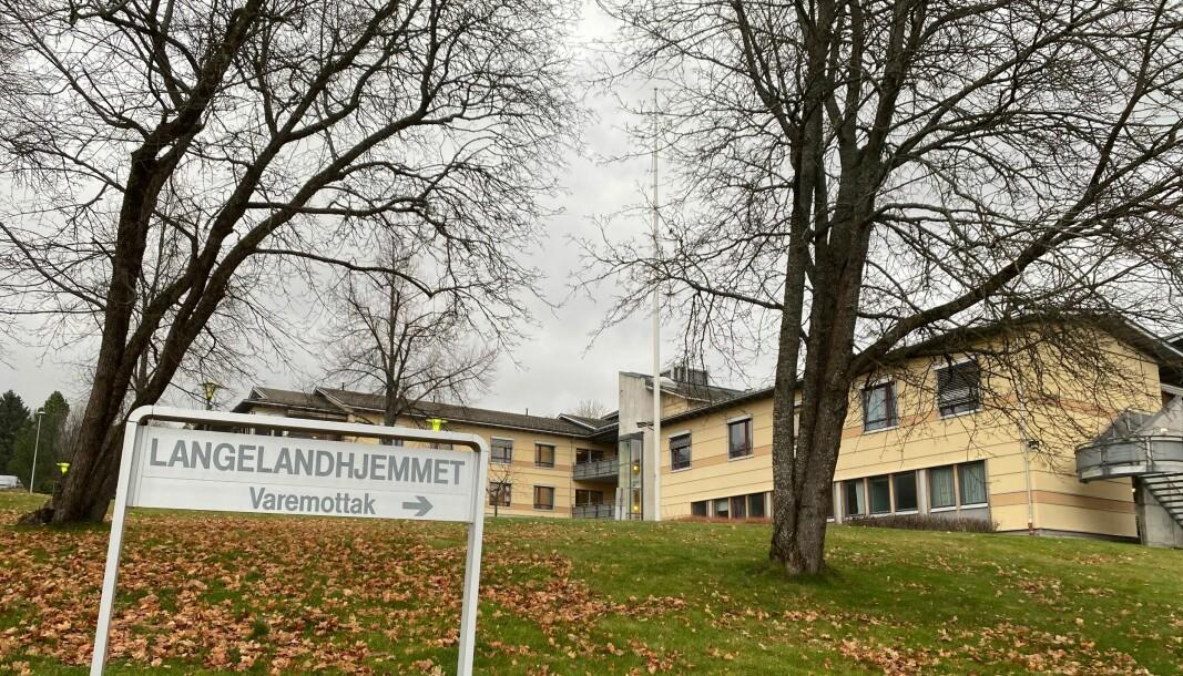En beboer smittet ved Langelandhjemmet.