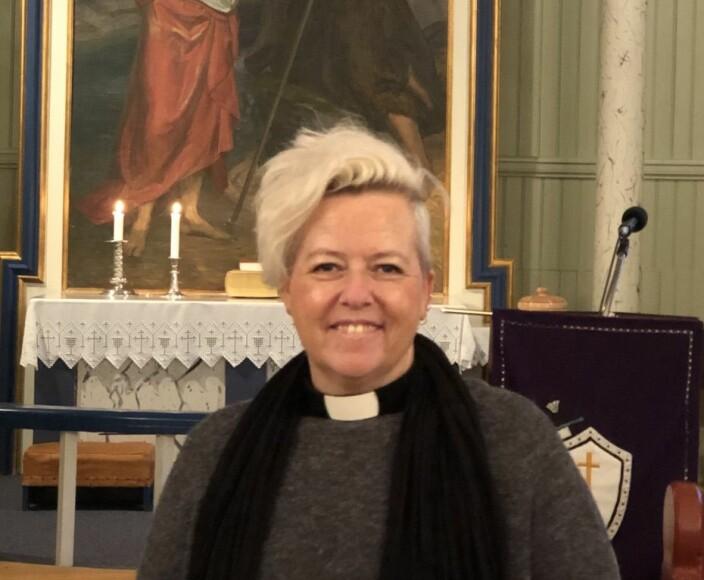 Fungerende sogneprest Austmarka kirke Elisabeth Eriksen