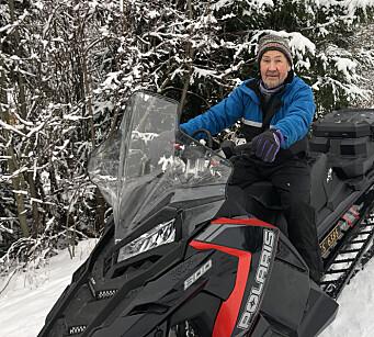 Endelig skiføre