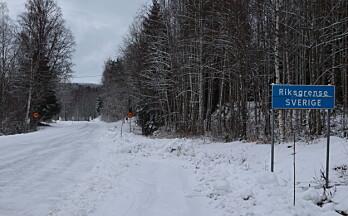 En rekke grenseoverganger er nå stengt inn til Norge