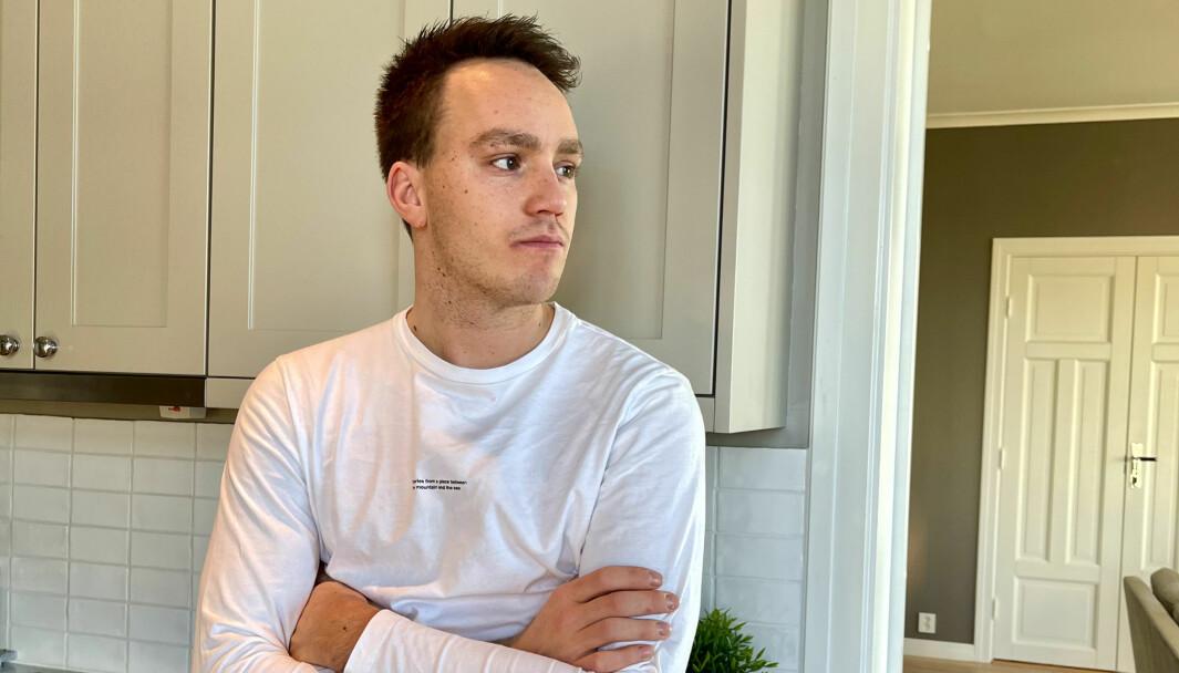 Ole Christian Veiby er preget etter å ha mistet en venn i skredraset i Gjerdrum.