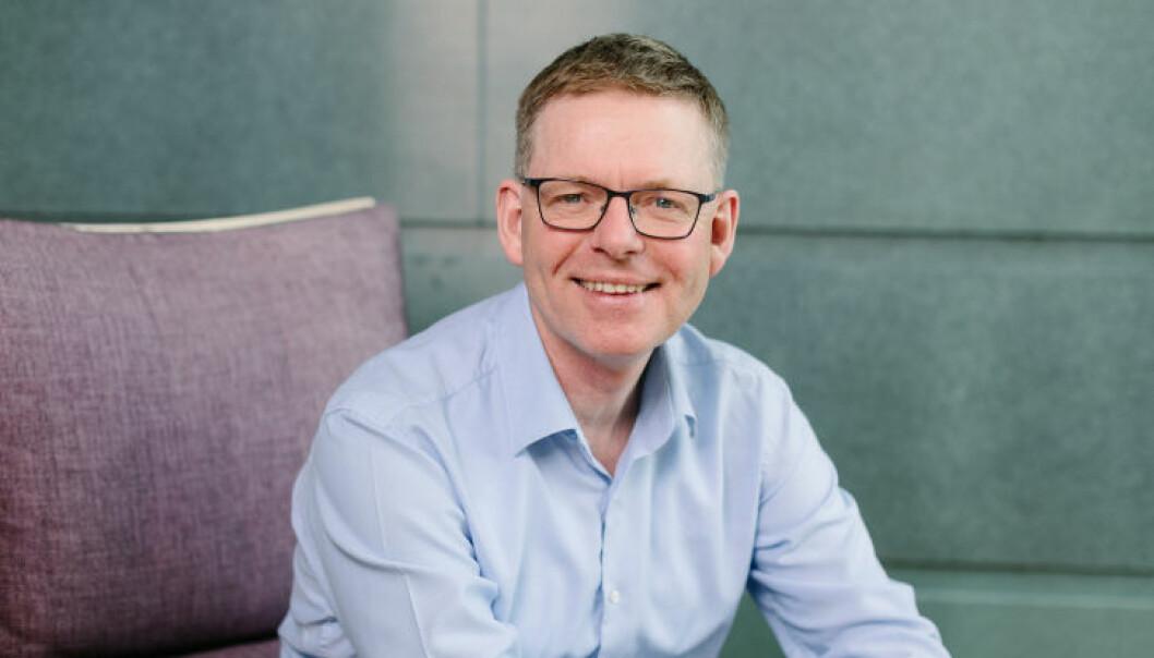 Jon Kristiansen, regiondirektør NHO Innlandet, gleder seg over nedgangen i antall konkurser.