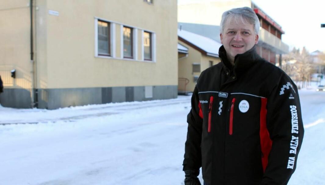 Løpsleder Stig Rune Kjernsli håper rallyfolket respekterer at årets Finnskogrally beklageligvis må arrangeres uten publikum.