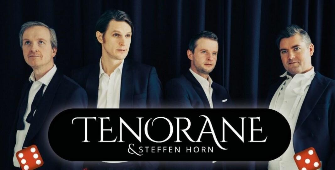 Onsdag holder «Tenorane» og Steffen Horn nyttårskonsert i Kongsvinger.