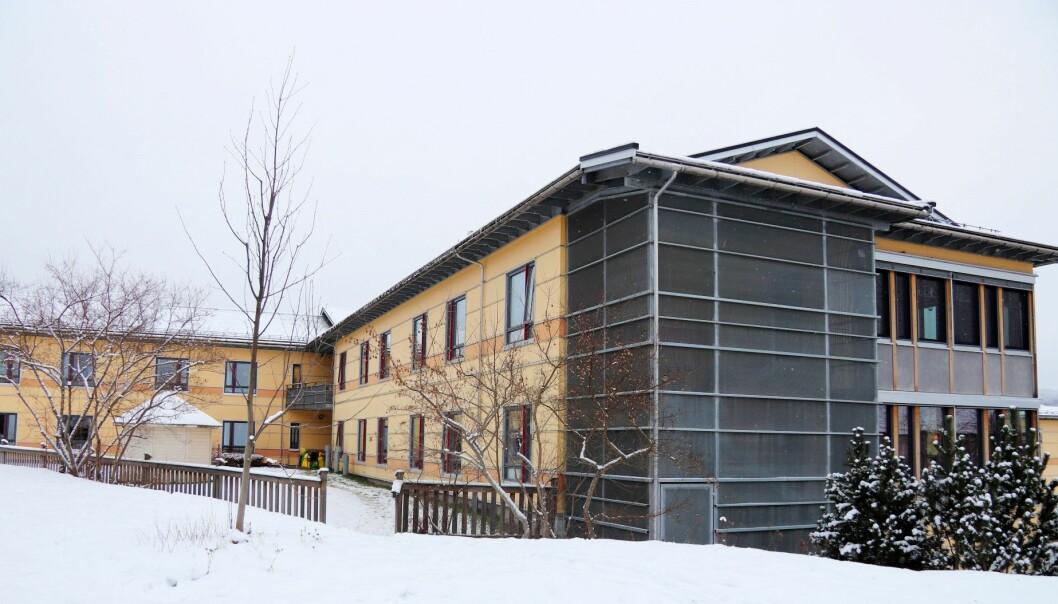 Det innføres besøkstopp ved alle sykehjem i kommunen frem til 18. januar. Her fra Langelandhjemmet.