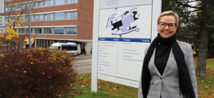 Jane er sykehusets nye nøkkelperson