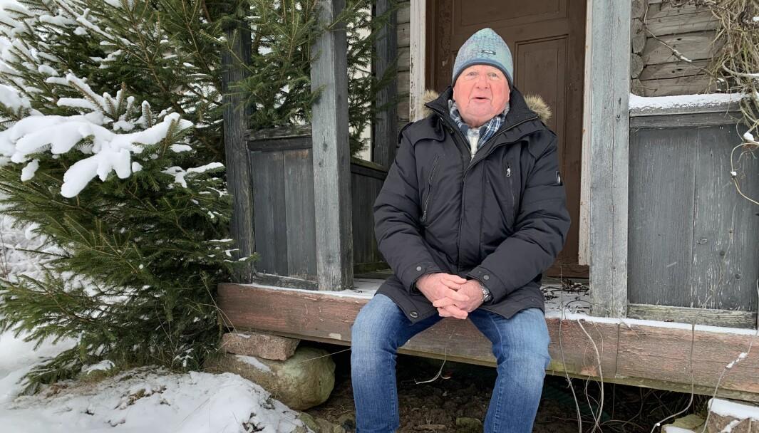 Det siste året har Kongsvinger-Vinger historielag, med Per Tore Broen i spissen, gjort en kjempejobb med å gjøre husmannsplasser mer kjent. Her er han på plassen Kletta, ikke langt fra Kongsvinger sentrum.