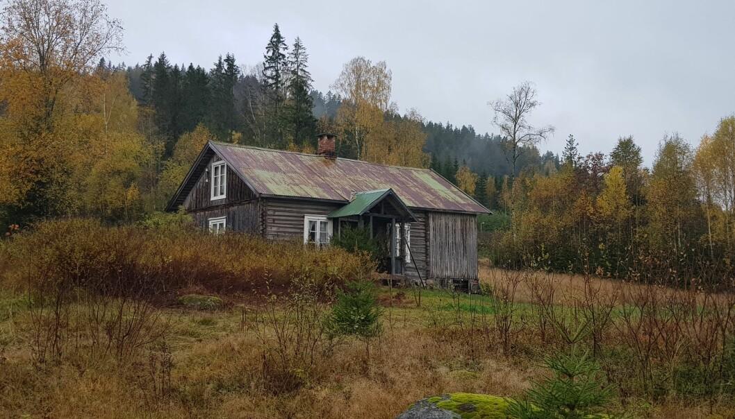Kletta, tidligere småbruk og husmannsplass.