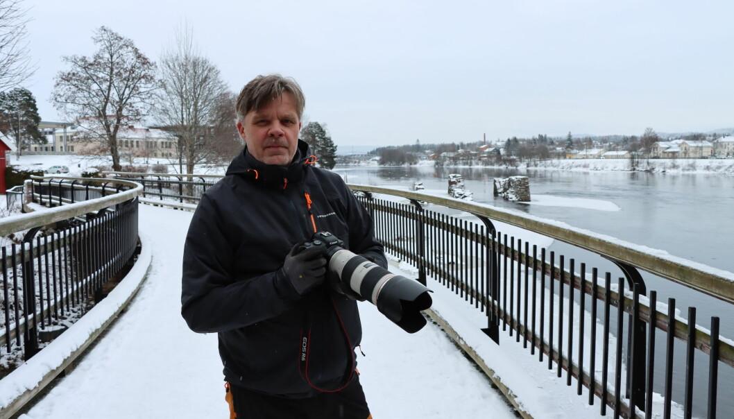 Tom Jørgensen bruker mye tid med kameraet. Sannsynligvis har du sett flere av bildene hans.