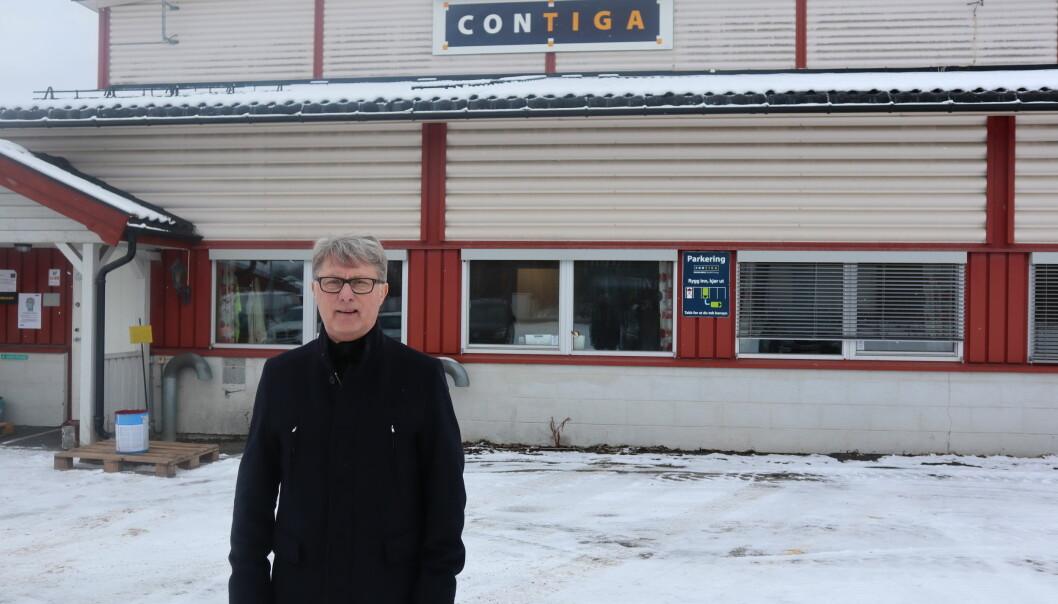 Salgssjef for region øst i Contiga, Hans Erik Fremming, er fornøyd etter å ha sikret kontrakten verdt cirka 200 millioner kroner