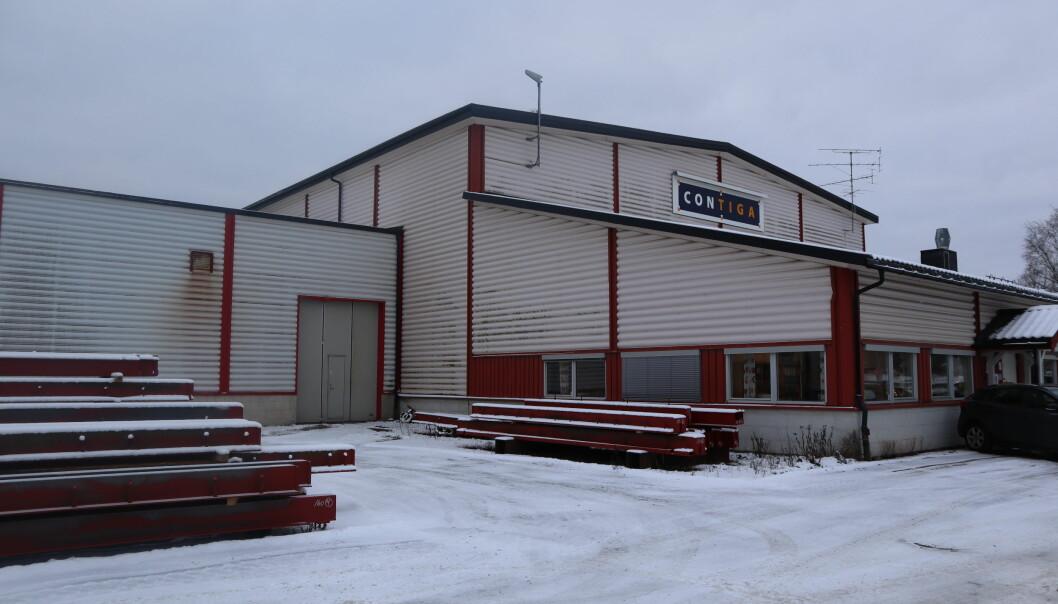Her på Roverud skal det det produseres mye stålelementer til det store byggeprosjektet Construction City