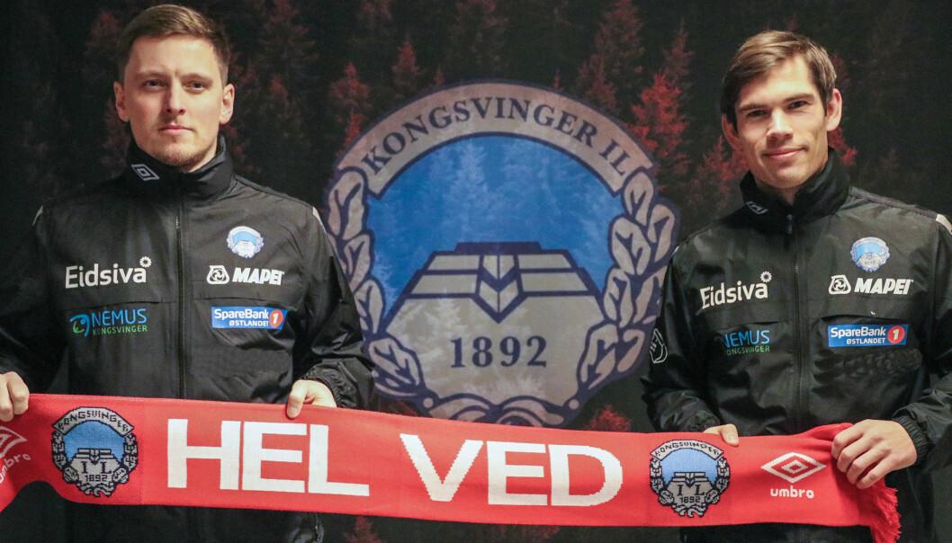 Eirik Mæland (t.h) og Johan Wennberg er KILs nye trenerteam.