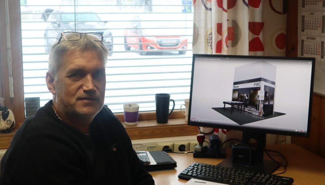 Fabrikksjef ved Contiga på Roverud, Thor-Egil Einarsrud gleder seg til å få på plass nytt produksjonsanlegg
