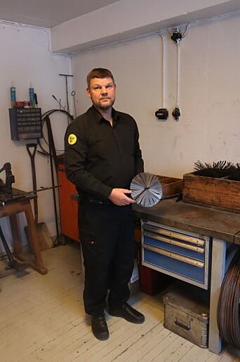 Feiermester Per Even Larsen gir gode råd for å forebygge pipebrann