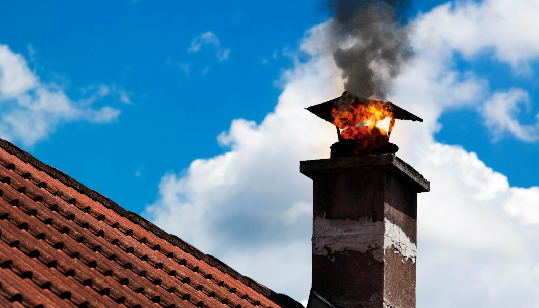En pipebrann kan utvikle seg til en boligbrann