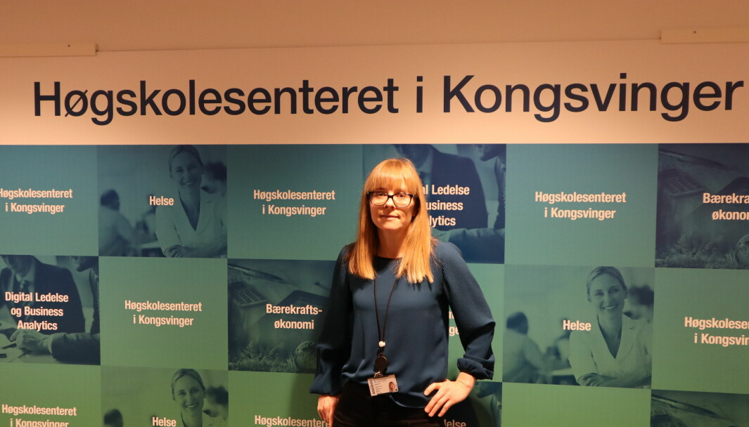 Kristina Kvarv Andreassen ved Høgskolesenteret i Kongsvinger har i samarbeid med Fagskolen Innlandet fått på plass et studietilbud rettet mot industrien