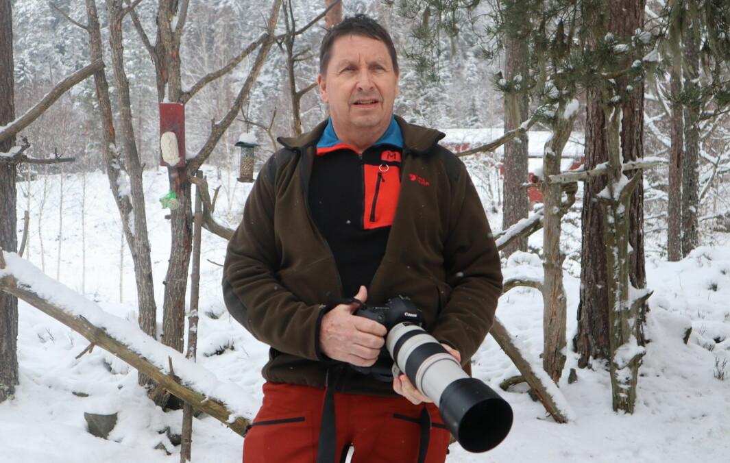Stig Johnny Henriksen har fotografert 170 ulike fuglearter, og drømmer stadig om å forevige flere på foto.