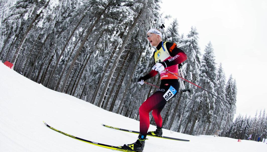 Johannes Thingnes Bø satser på å sanke gull i vinterens VM og ikke minst under OL neste år, før han tar med familien og flytter til Kongsvinger.