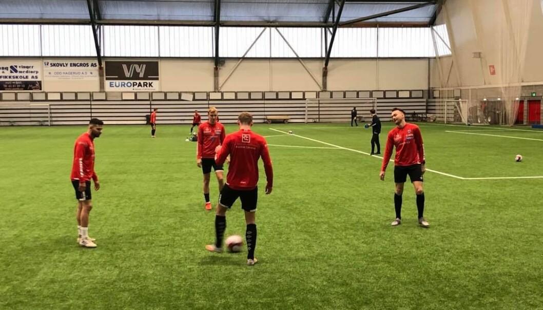 KIL hadde i dag sin første trening for sesongen.