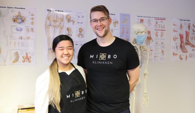 Bich-Kieu (29) og Magnus (29) startet klinikk