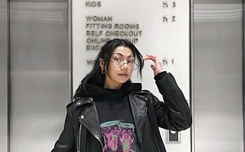 Kathleen (23) lanserte eget merke og t-skjortekolleksjon