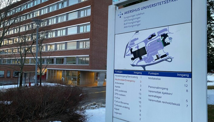 Innfører besøksstopp ved Kongsvinger sykehus