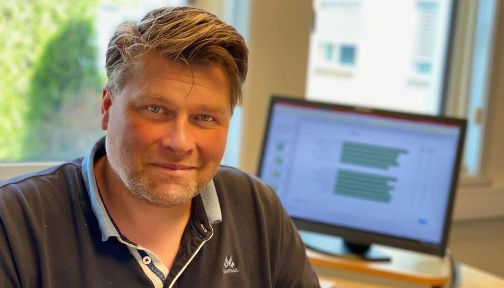 HR-leder Lars Christian Stømner i Ø.M. Fjeld har hatt en travel torsdag i kjølvannet av det nye innreiseforbudet
