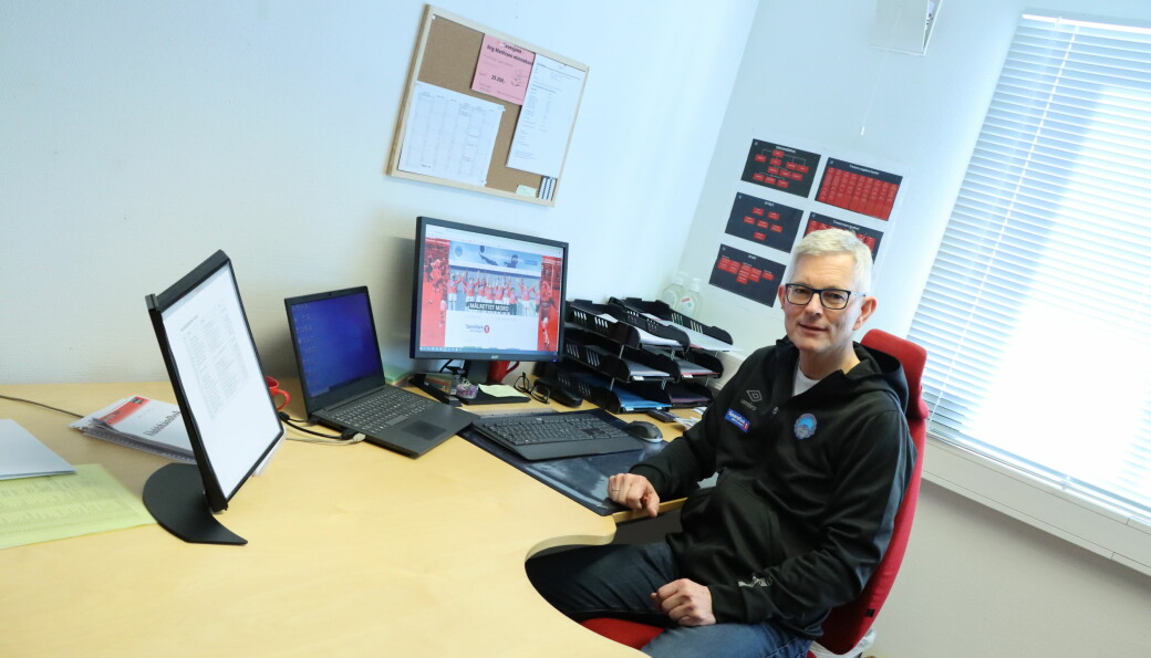 Morten Aasvangen er daglig leder i KIL Fotball, kommunens største idrettslag.