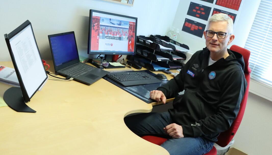 Morten Aasvangen er daglig leder i KIL Fotball, kommunens største idrettslag. I 2020 styrket klubben sin økonomi.