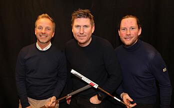 Distriktets beste golfspiller gjestet Prøvesving