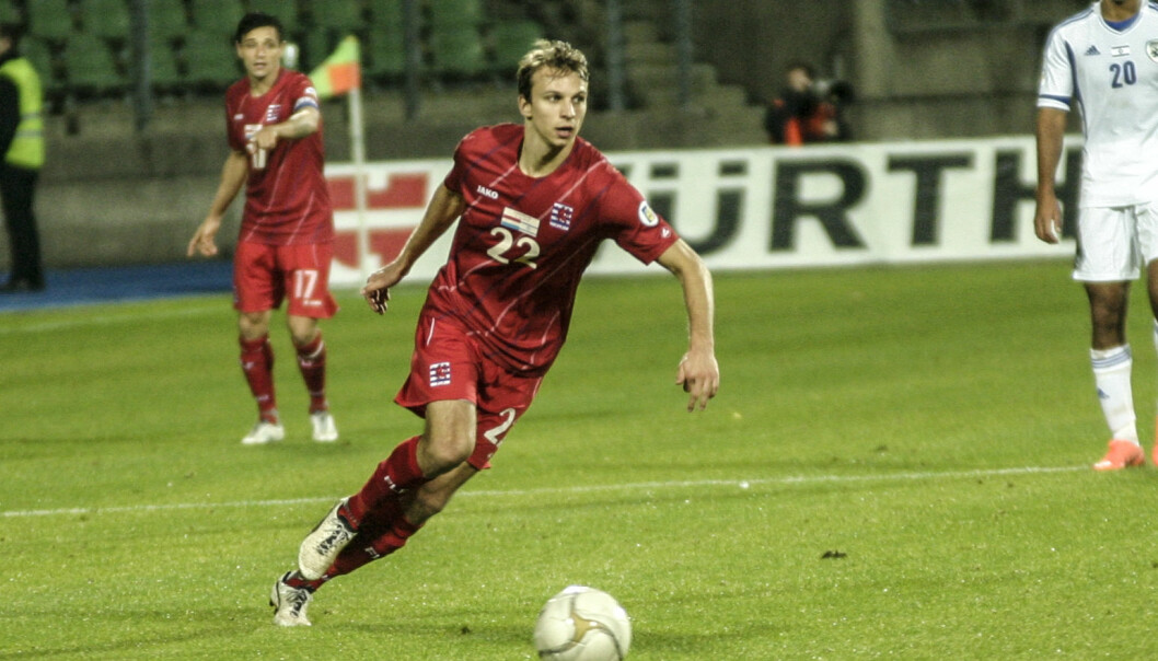 Lars Christian Krogh Gerson har signert en kontrakt med Brann.