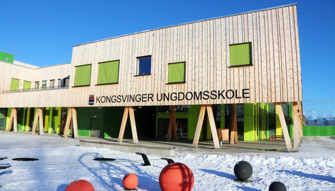 Det er to helsesykepleiere knyttet til Kongsvinger ungdomsskole. Rektor forteller hvor viktig de er for elevene, særlig under koronapandemien.