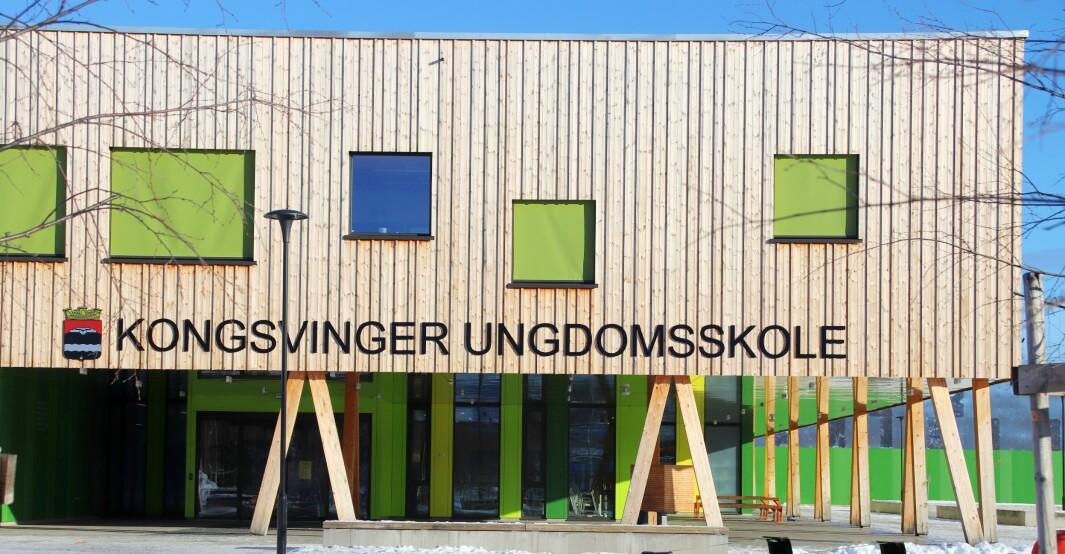 Det er to helsesykepleiere knyttet til Kongsvinger ungdomsskole. En tas ut av skolen og inn i arbeidet med vaksineringen.