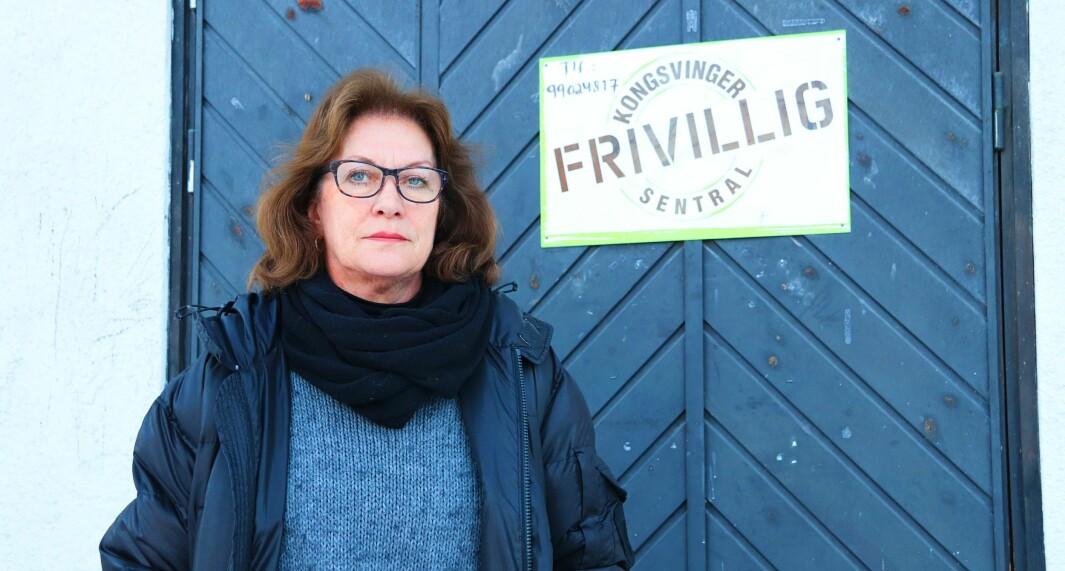 Aud Ingrid Olstad, leder for Frivilligsentralen og prosjektleder for arbeidet med frivillighetsmeldingen.