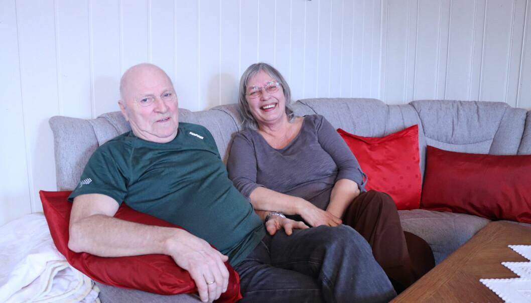 Idar Erling og Torhild Alfrid Berteussen blir gründere i godt voksen alder. Det gleder de seg stort til.