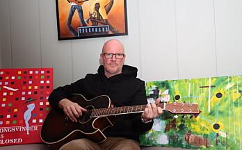 Johan møtte veggen – da kom de kreative sidene i ham frem