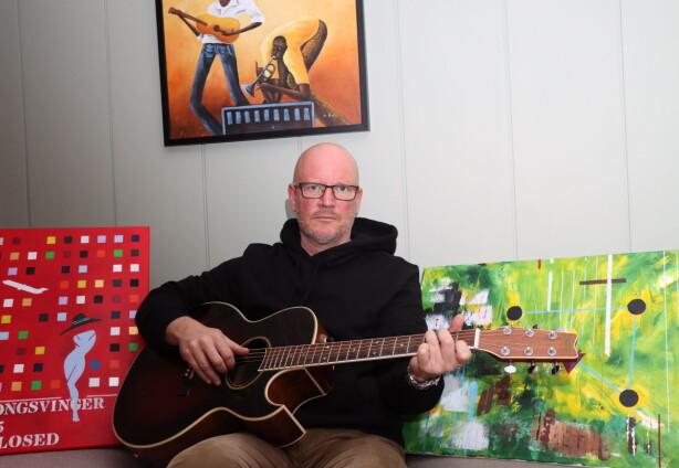 Johan møtte veggen – da kom de kreative sidene frem