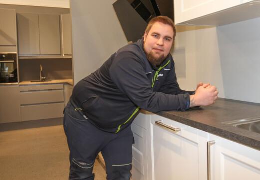 Richard er byens nye kjøkkensjef