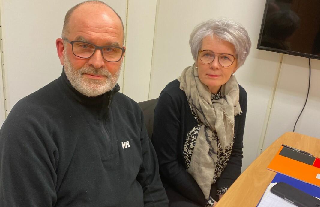 Ekteparet Kari og Jan Mellem står fram om sin fortvilede vannlednings-situasjon på vegne av huseierne i Lia som risikerer millionutgifter på en ledning de ikke visste de eide.
