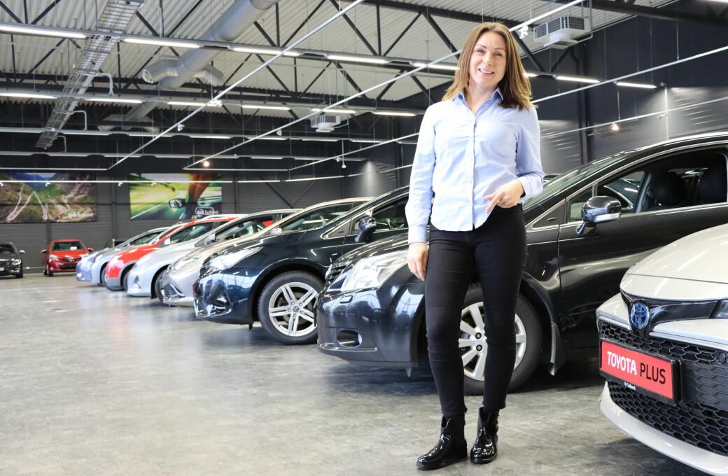 Elin Skoglund er vant til å være den eneste damen som selger biler. Med tiden er hun blitt salgssjef for byens mestselgende bilforretning, nemlig Sullands bruktbilforretning.