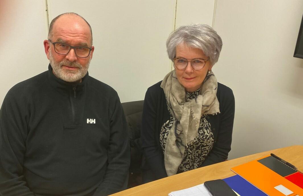Ekteparet Jan og Kari Mellem er en av de syv eiendomsbesitterne som risikerer millionutgifter for en ledning de ikke ble opplyst om at fulgte med eiendommen.