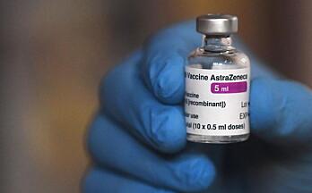 Dette er status for vaksineringen etter at AstraZeneca er satt på vent