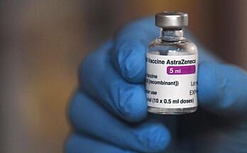 FHI vurderer AstraZeneca-vaksinen til de over 65 år
