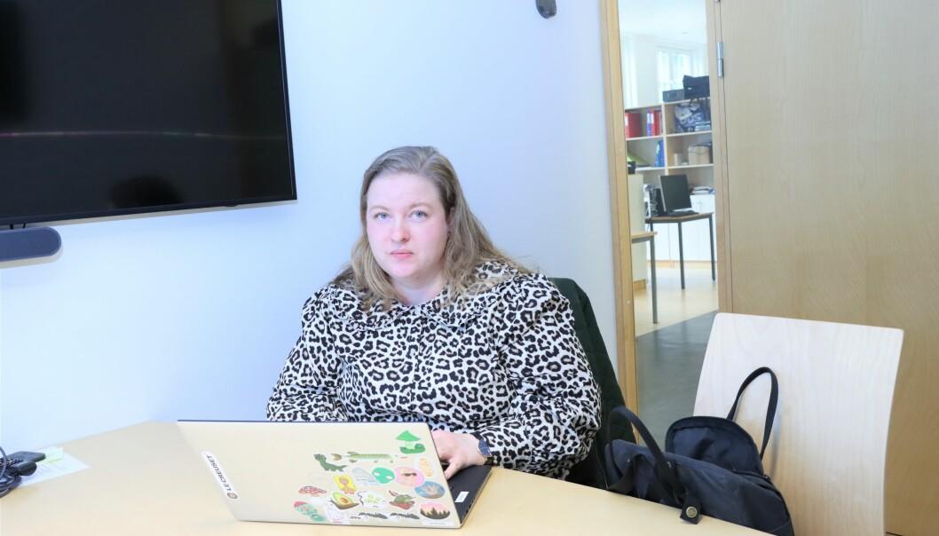 Bjørg Anita Murud på Sentrum videregående skole synes det er kritikkverdig at det ikke er blitt aktuelt med noe ubekvemstillegg for lærere.