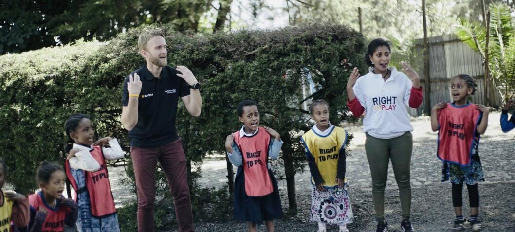 Jimmy leder organisasjonen som hjelper 2,3 millioner barn