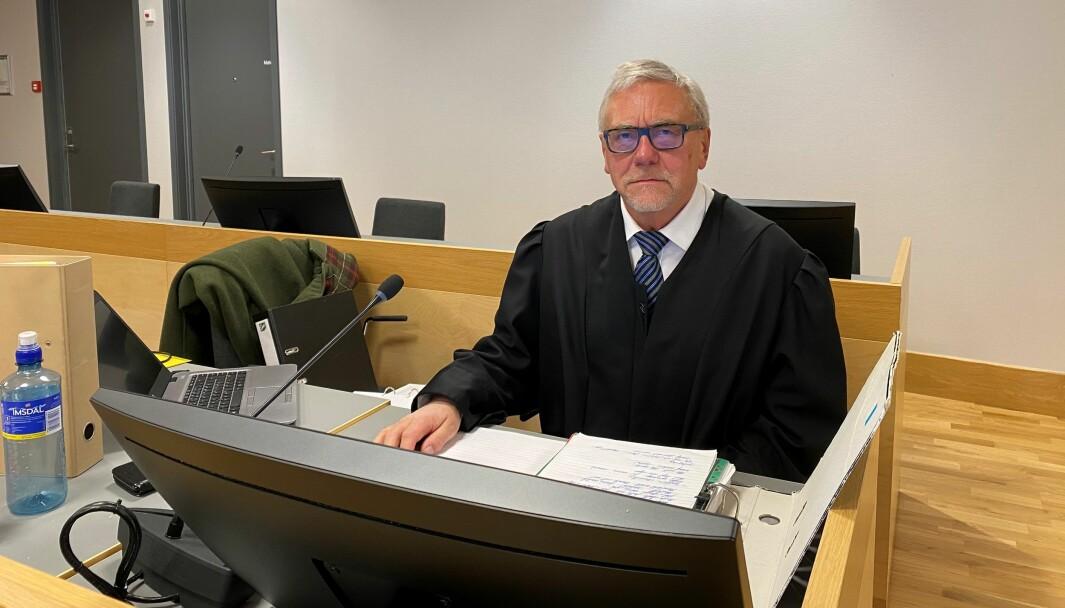 Politiadvokat Helge A. Eidsvaag er aktor i saken mot den overgrepsdømte mannen.