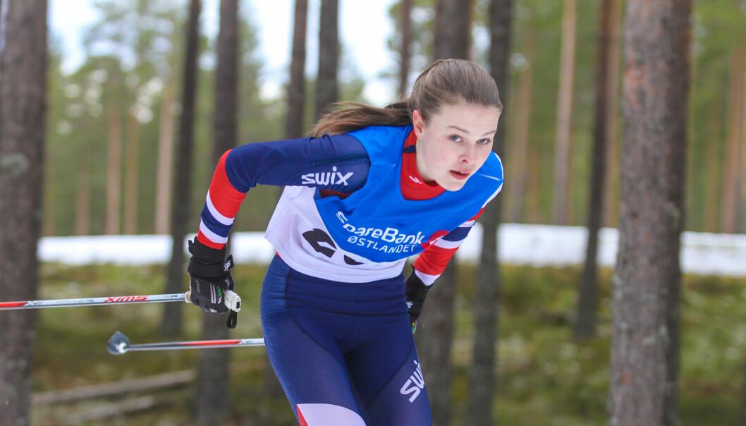 Ingeborg Rosager sikret seg to KM-gull i helga.
