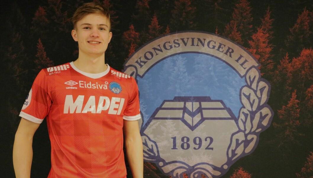 Markus Nygård signerer for KIL.